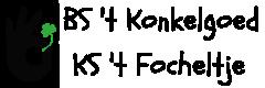 GO! BS 't Konkelgoed – KS 't Focheltje Lebbeke Logo